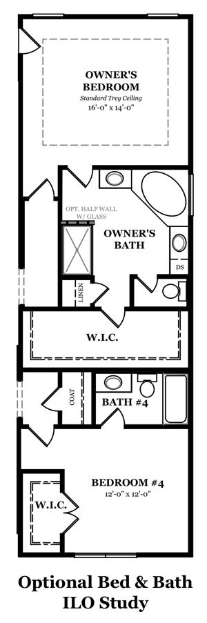 Augusta II Optional Owner's Bath