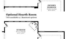 Augusta II Optional Hearth  & Sunroom Room