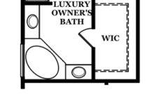 Braxton Optional Luxury Owner's Bath