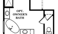 Cameron II Optional Owner's Bath