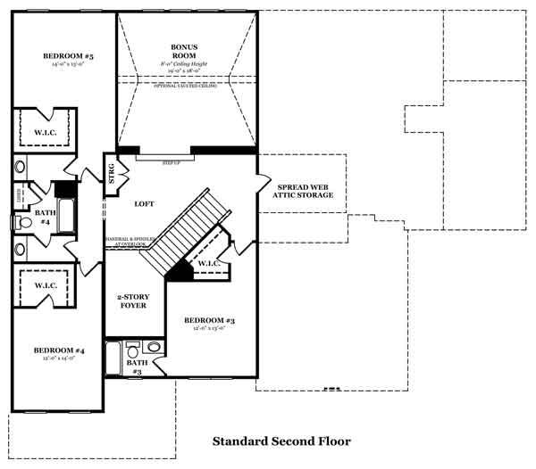Claybrooke Optional Finished Basement 2