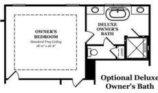 Davenport Optional Deluxe Owner's Bath