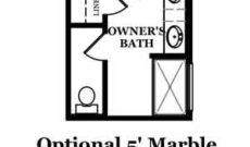 Drayton Optional Shower at Owner's Bath