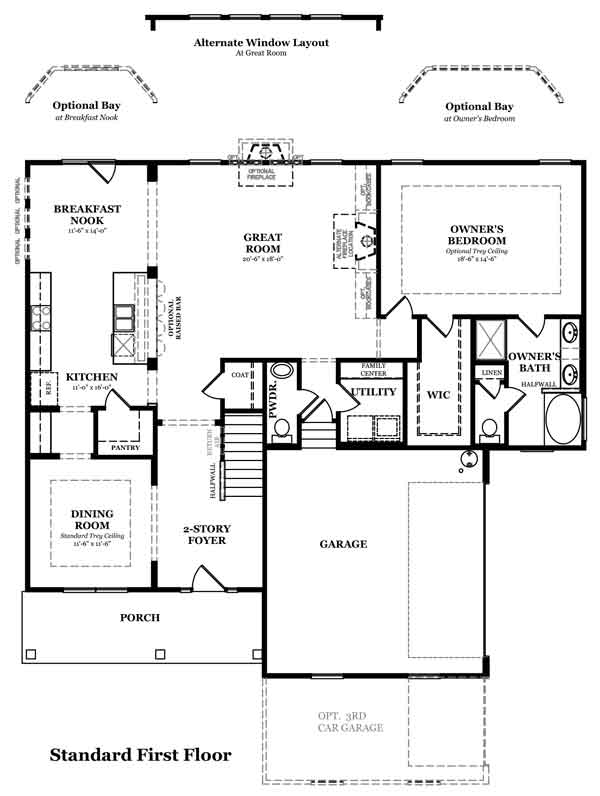 Drayton Optional Kitchen w/Study