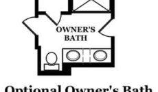 Durand Optional Owner's Bath