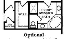 Madison Optional Luxury Owner's Bath
