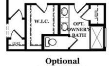 Madison Optional Owner's Bath