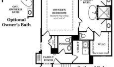 Newcastle II Owner's Bath Options