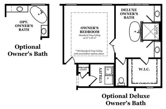 Newcastle Owner's Bath Options