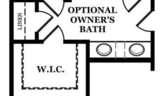 Somerville II Optional Owner's Bath