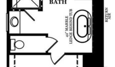 Windemere Optional Deluxe Owner's Bath