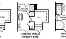 Beckett Owner's Bath Options