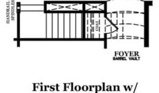 Bradford First Floor with Optional Second Floor