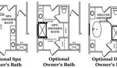 Rainsford Owner's Bath Options