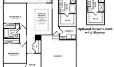 Bierstadt Standard First Floor with Optional Owners Bath