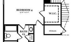 Rockwell II Optional Jack & Jill Bath Shown w/ Optional Second Floor