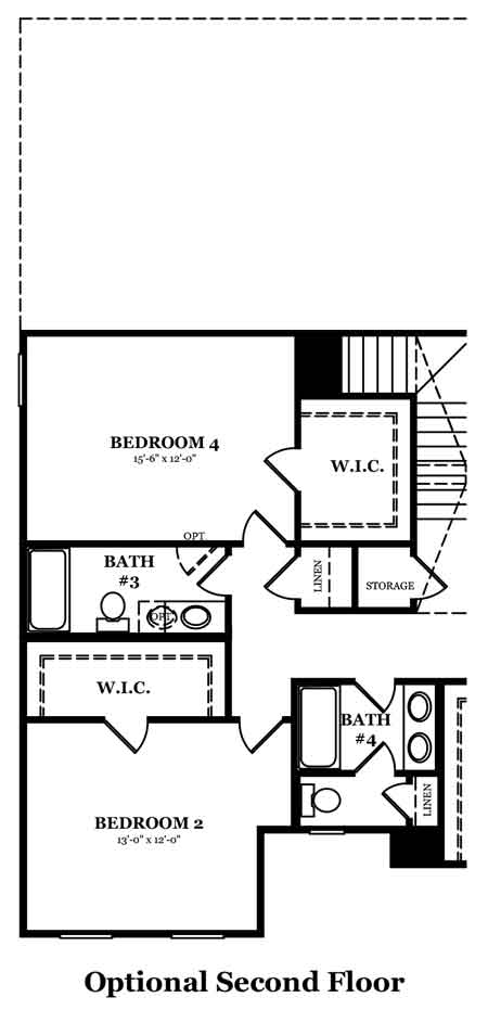 Rockwell II Owner's Bath Options