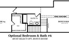 Adams Optional Bedroom & 6th Bathroom