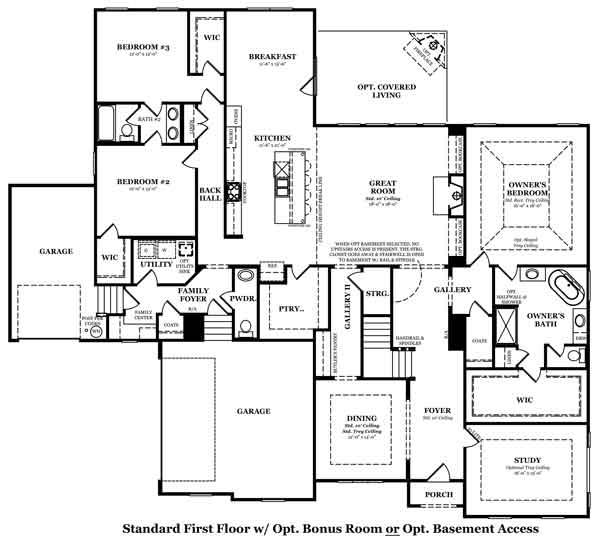 Ashford Bonus Room Options