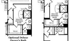 Augusta-II-Deluxe Owners Bath Options