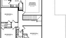 Calhoun Optional 4th Bedroom In Lieu of Bonus Room
