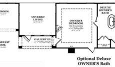 Donovan Optional Deluxe Owner's Bath