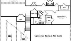 Drayton Optional Jack & Jill Bath