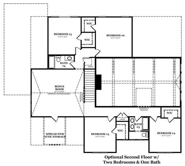 Havenwood Optional Finished Basement 2