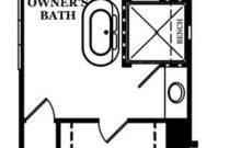 Carlisle-Optional Deluxe Owner's Bath
