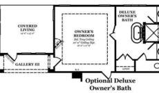Dresden Optional Deluxe Owner's Bath