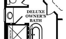 Hargrove Optional Deluxe Owner's Bath