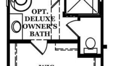 Highcliffe-Optional Deluxe Owner's Bath