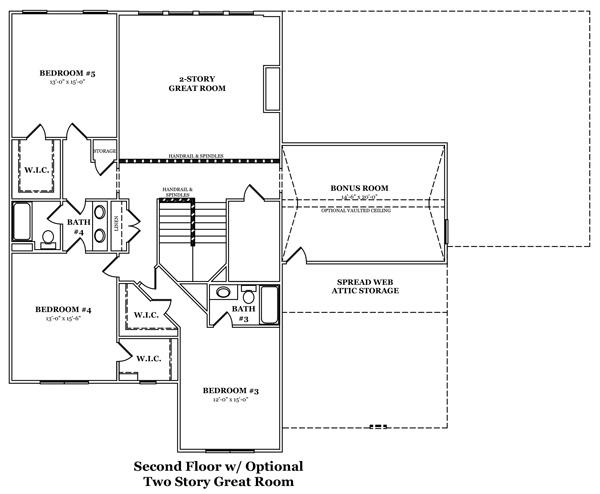 Norcross II Optional Finished Basement 2